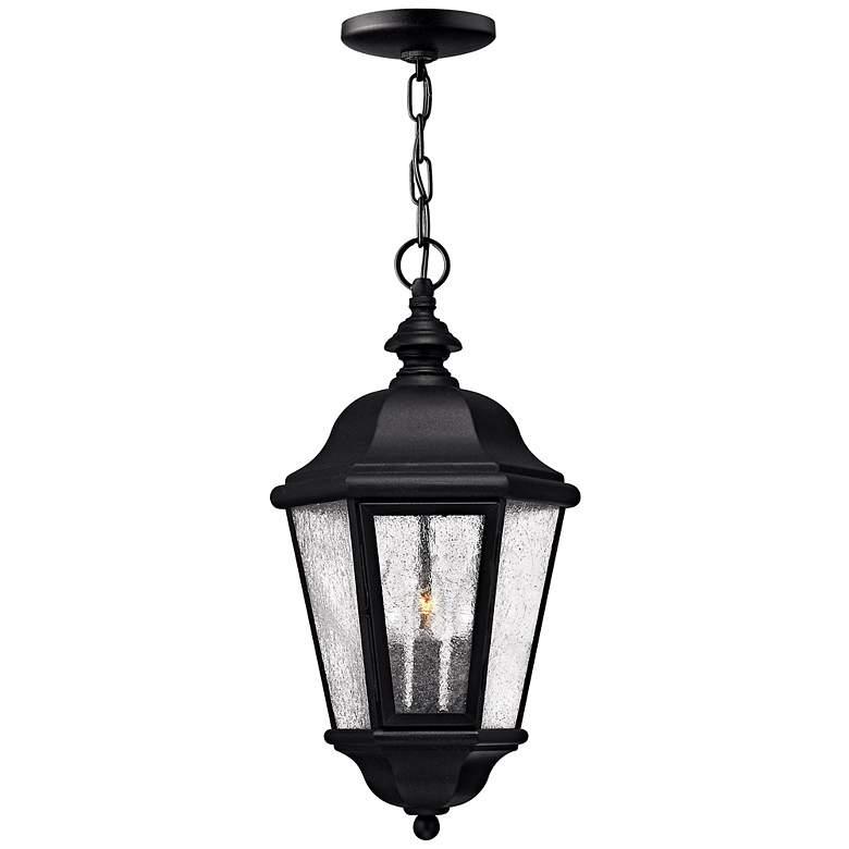 "Hinkley Edgewater Black 18 1/2"" High Hanging Light"