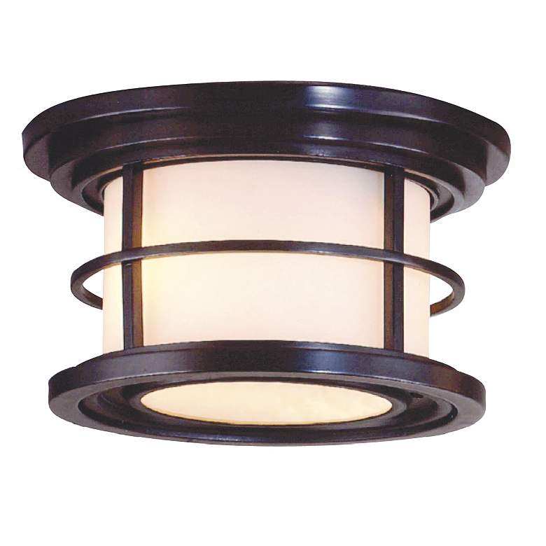 """Feiss Lighthouse Collection 10"""" Wide Ceiling Light Fixture"""