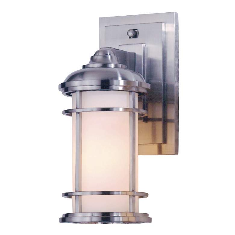 "Feiss Lighthouse 11"" High Steel Outdoor Wall Light"