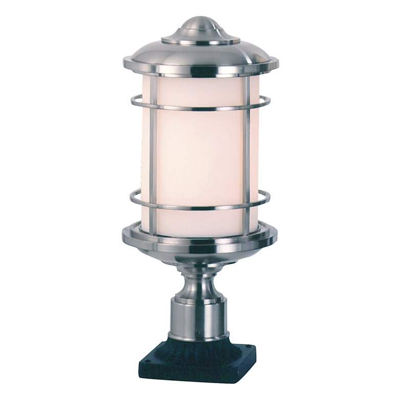 """Feiss Lighthouse Collection 18""""H  Steel Outdoor Post Mount"""