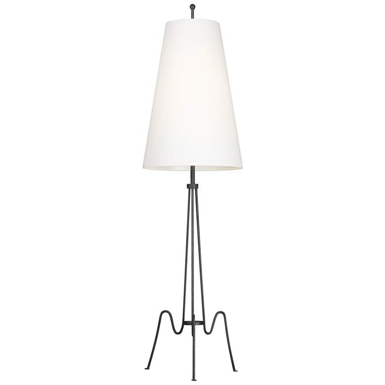 Ellen DeGeneres Marbel Aged Iron LED Floor Lamp