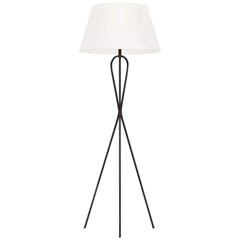 Ellen DeGeneres Francis Aged Iron LED Floor Lamp