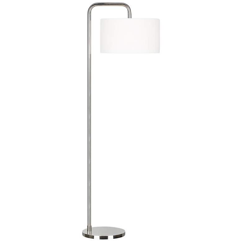 Ellen DeGeneres Dean Polished Nickel LED Floor Lamp