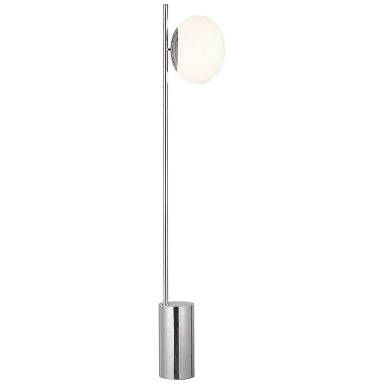 Ellen DeGeneres Lune Polished Nickel LED Floor Lamp