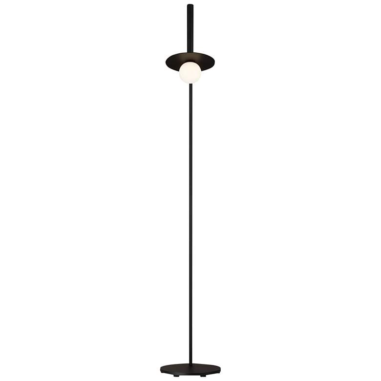 Nodes Midnight Black LED Floor Lamp by Kelly Wearstler