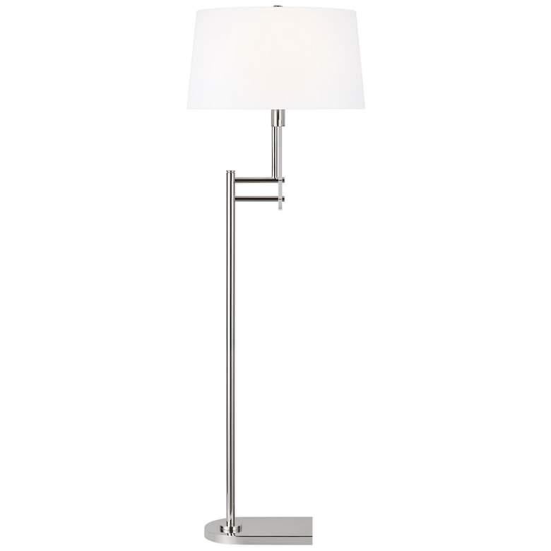Jake Polished Nickel Finish Metal LED Floor Lamp by Ralph Lauren