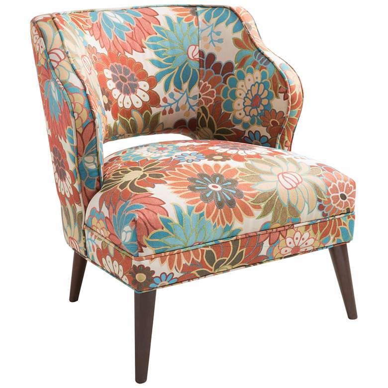 Cody Multi-Color Open Back Accent Chair