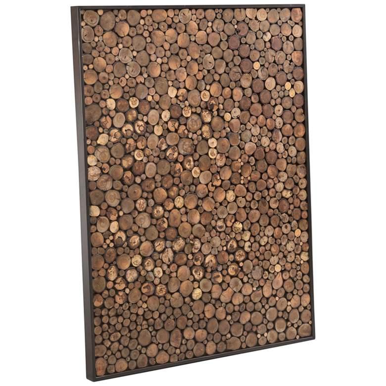 """Topi 30"""" High Natural Wood Wall Art"""