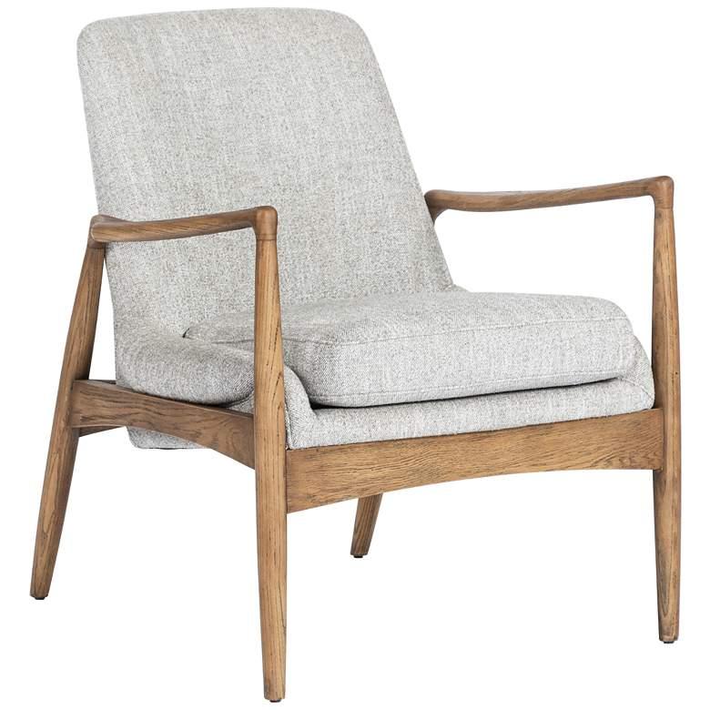 Braden Mid-Century Manor Gray Nettlewood Chair