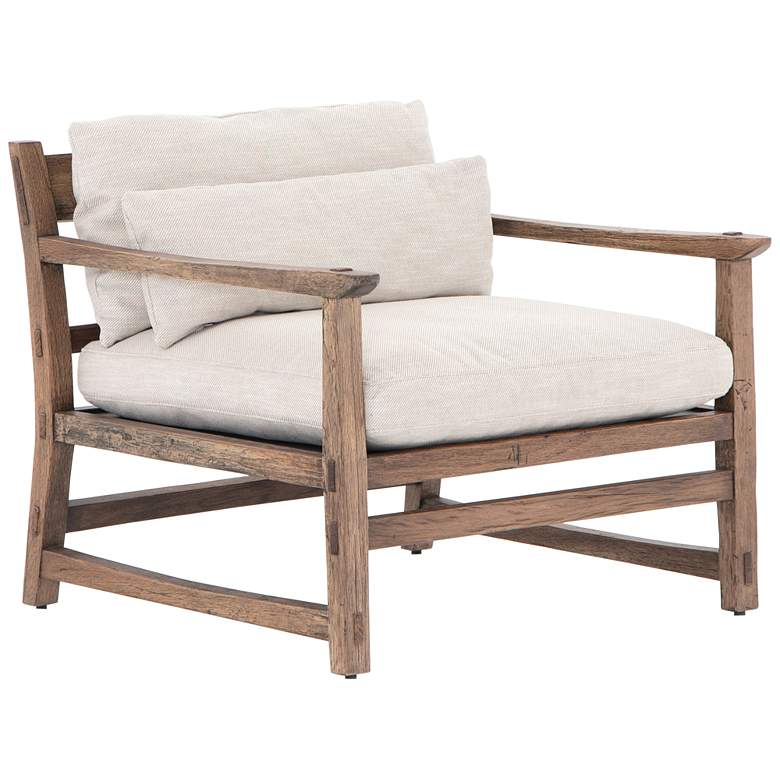 Apollo Rustic Brown Oak Chair