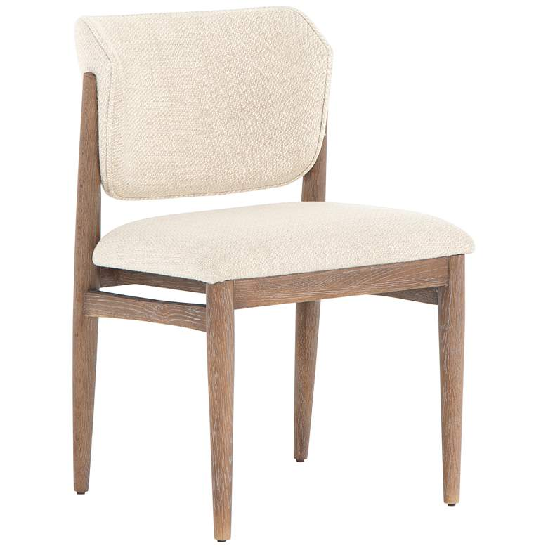 Joren Mid-Century Taupe Nettlewood Dining Chair