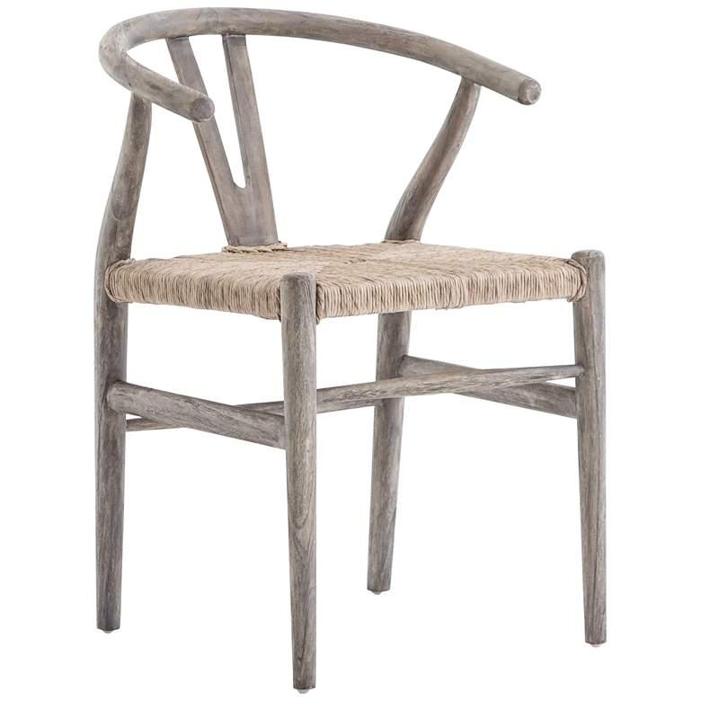 Muestra Rustic Gray Teak Dining Chair