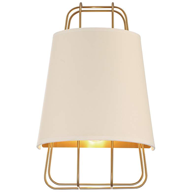 "Eurofase Tura 16"" High Brass Wall Sconce"