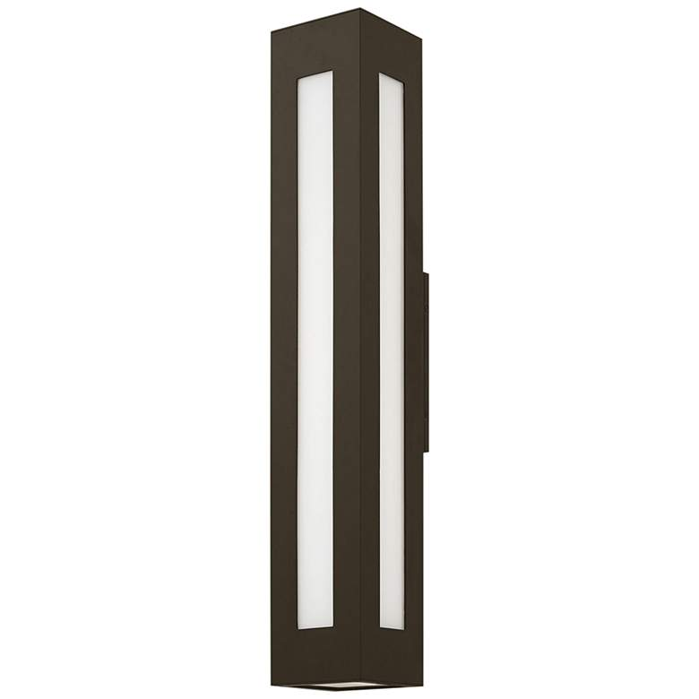 "Hinkley Dorian36"" High Bronze Extra Large Outdoor Wall Light"