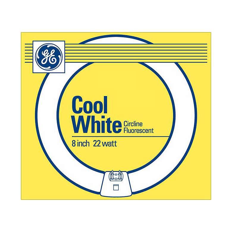 "GE Cool White 22 Watt / 8"" Circline Fluorescent"