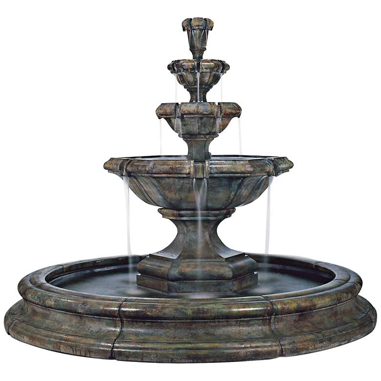"Henri Studio 79 1/2"" High Grande Kensington 3-Tier Fountain"