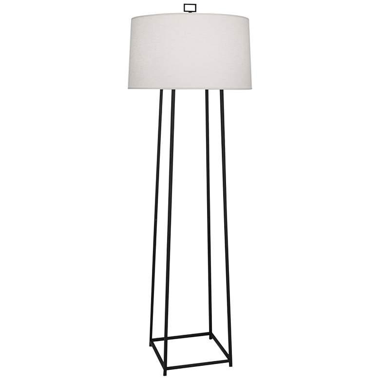Robert Abbey Cooper Wrought Iron Floor Lamp