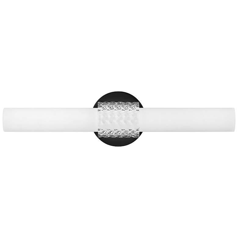 "Hinkley Vivi 22 3/4"" Wide Black LED Bath Light"