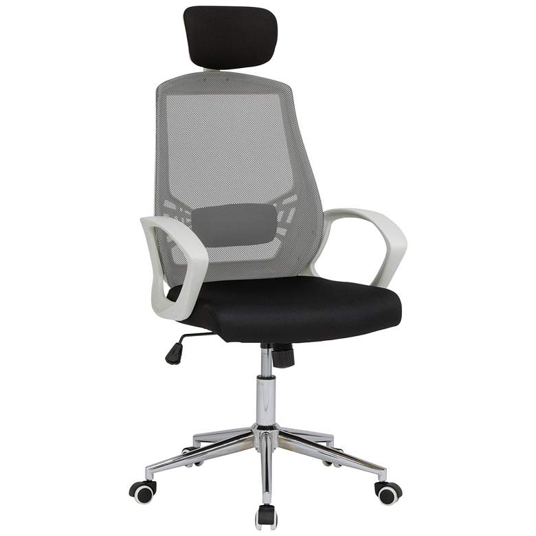 High Back Black Adjustable Swivel Mesh Managers Chair