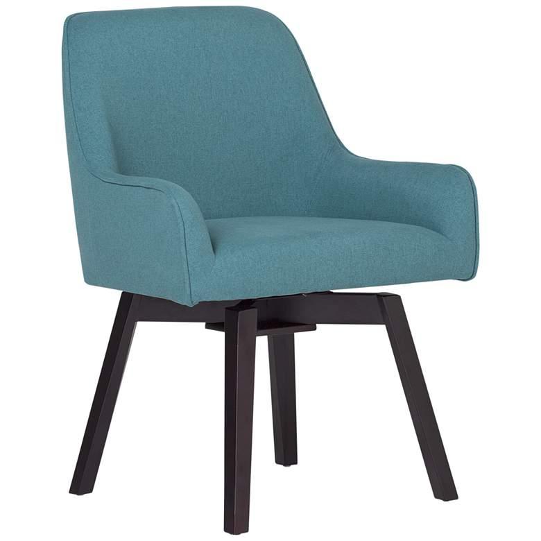 Spire Baltic Blue Fabric Swivel Task Chair