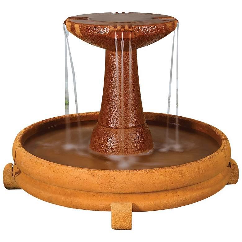 "Henri Studio 28"" High Overflowing Spill Dish Garden Fountain"