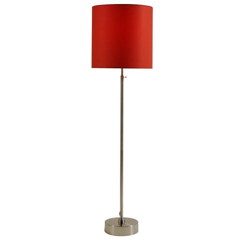 Lights Up! CanCan 2 Adjustable Burnish Chintz Floor Lamp