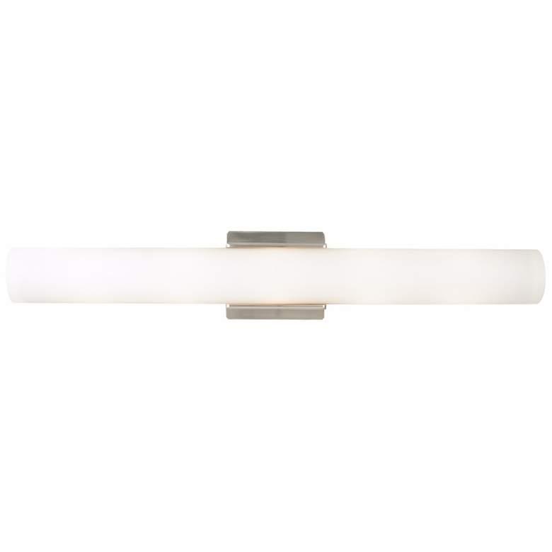 "Tech Lighting Solace 26"" Wide Satin Nickel Bath Light"