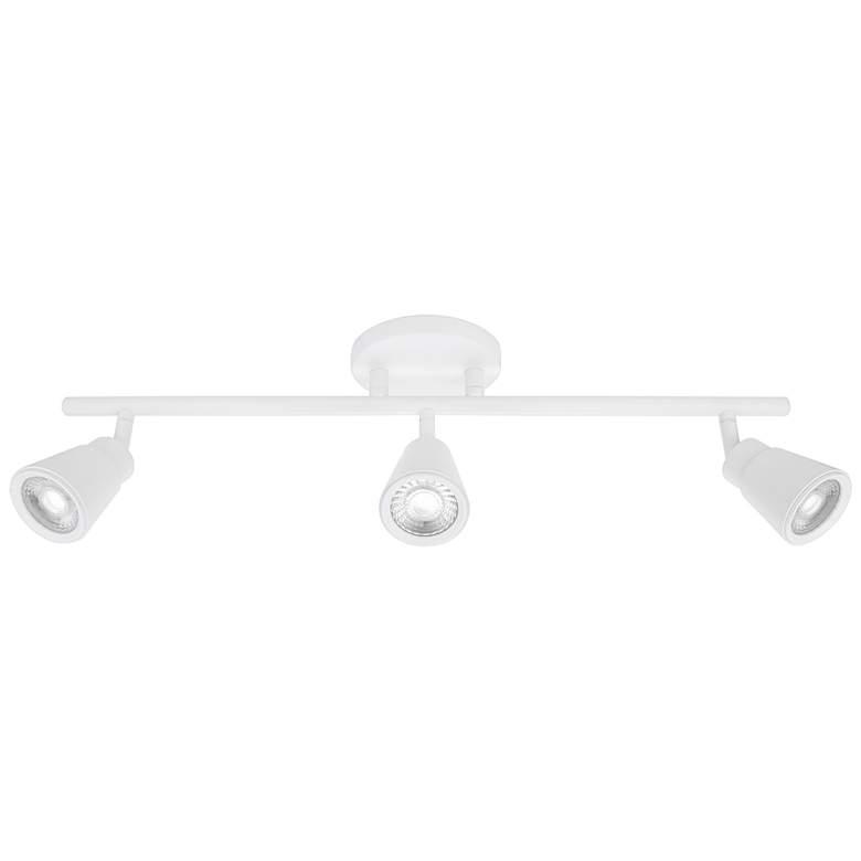 WAC Solo 3-Light White LED Track Fixture