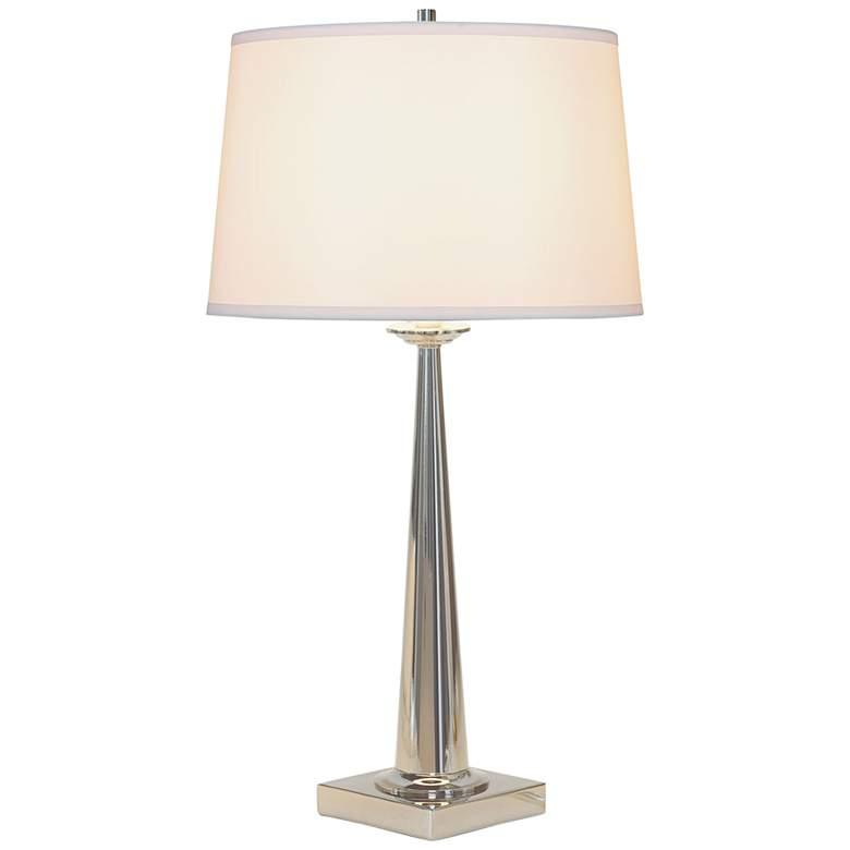 Port 68 Toronto Polished Nickel Metal Tapered Table lamp