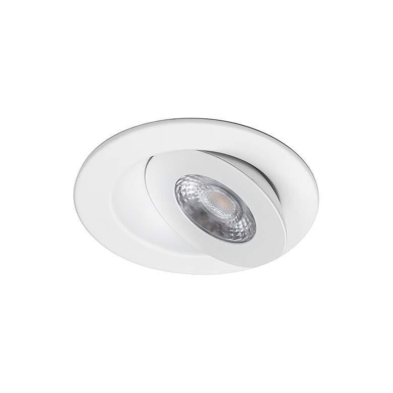 "WAC Lotos 6"" White Round Adjustable 5-CCT LED Recessed Kit"