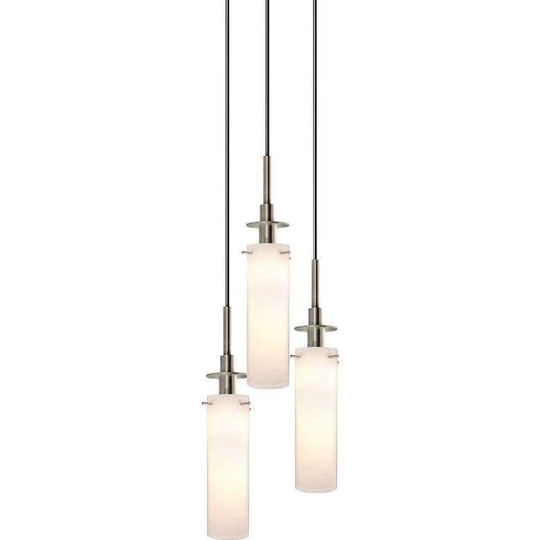 "Sonneman Candle 10"" Wide Satin Nickel Multi Light"