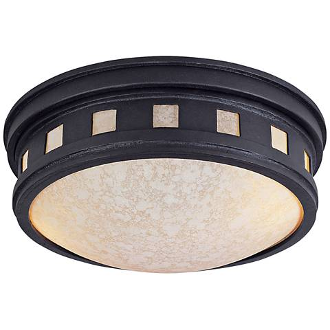 """Sedona 13"""" Wide Oil-Rubbed Bronze Outdoor Ceiling Light"""