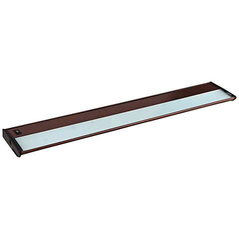 "CounterMax MX-X120 40"" Wide Bronze Under Cabinet Light"