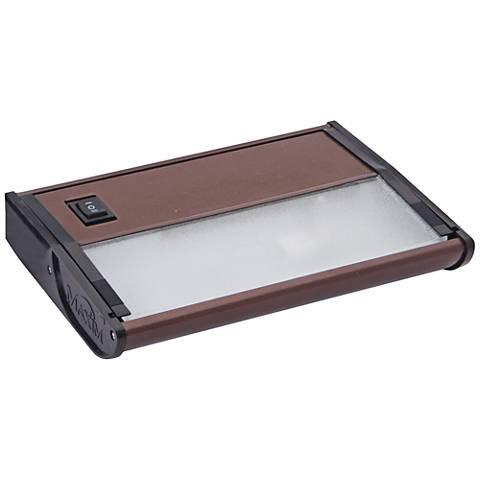 "CounterMax MX-X120 7"" W Metallic Bronze Under Cabinet Light"