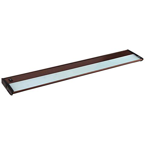 "CounterMax MX-X120 30"" Wide Bronze Under Cabinet Light"