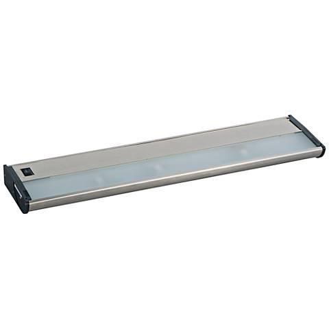"CounterMax MX-X120 21"" W Satin Nickel Under Cabinet Light"