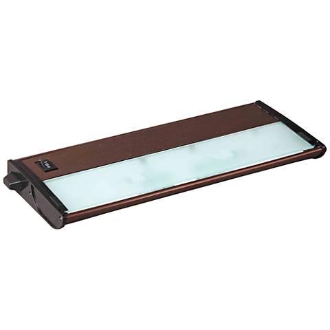 "CounterMax MX-X120c 13"" Wide Bronze Under Cabinet Light"
