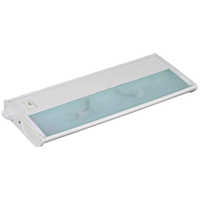 "CounterMax MX-X120c 13"" Wide White Under Cabinet Light"