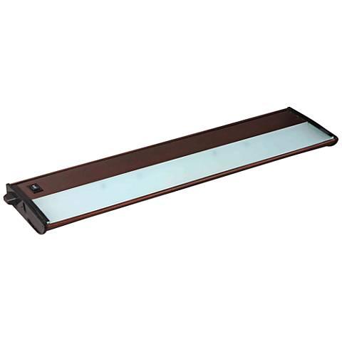 "CounterMax MX-X120c 21"" Wide Bronze Under Cabinet Light"