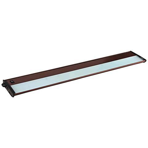 "CounterMax MX-X120c 30"" Wide Bronze Under Cabinet Light"