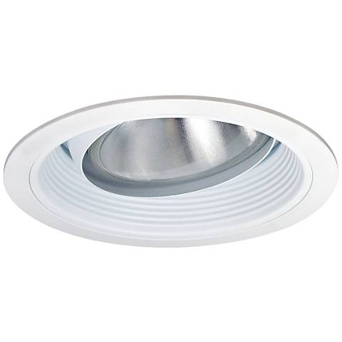 "Recessed Light 5"" Baffle with Regressed Eyeball Ring Trim"