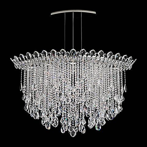 """Schonbek Trilliane Strands 45"""" Wide Crystal Pendant Light"""