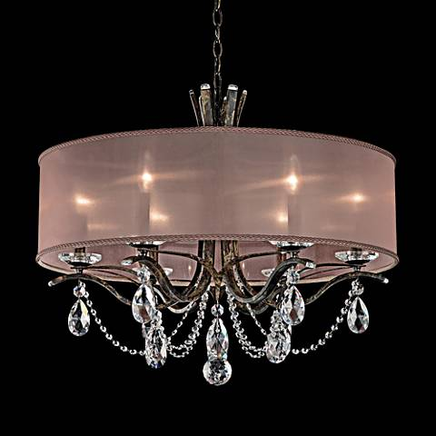 "Schonbek Vesca 28""W Heirloom Bronze 6-Light Chandelier"