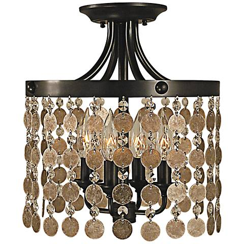 """Naomi Collection 12"""" Wide Ceiling Light by Framburg"""