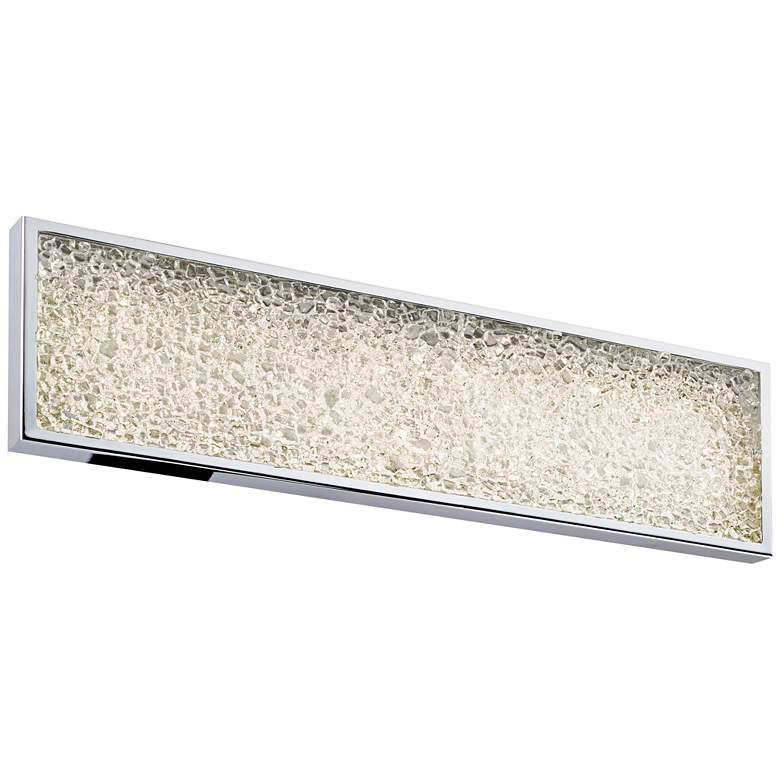 "Sonneman Dazzle 18""W Polished Chrome LED Bath Light"