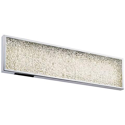 "Sonneman Dazzle 18""W Polished Chrome LED Bath Light"