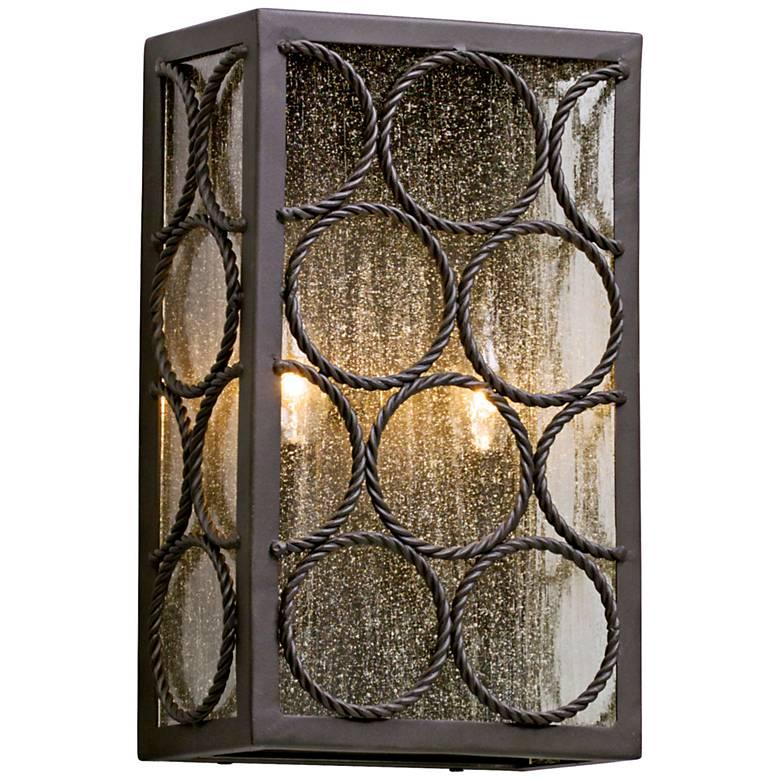 """Bacchus 14"""" High Textured Bronze Outdoor Wall Light"""