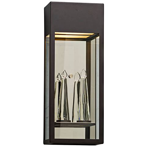 """Trousdale 22"""" High Bronze Outdoor LED Wall Light"""