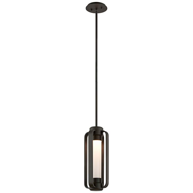 "Verve 16 1/2""H Coastal Bronze Outdoor LED Hanging Light"