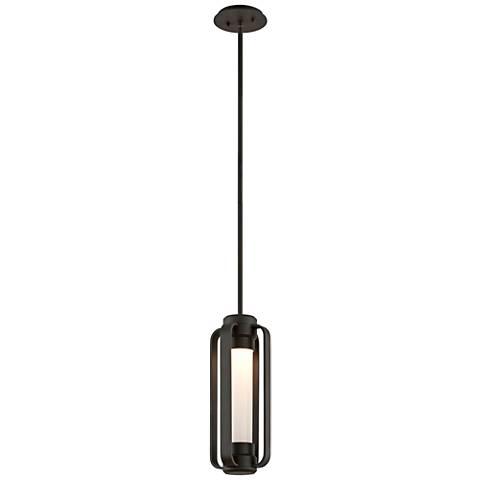 """Verve 16 1/2""""H Coastal Bronze Outdoor LED Hanging Light"""